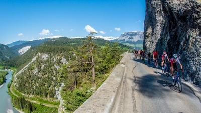 Bergrennen: Premiere mit spektakulärer Strecke