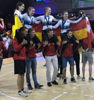 Vier EM-Titel für Hallenrad-Junioren in Bazenheid