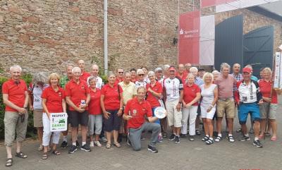 Willi Schmidt ist die gute Seele des Bundes-Radsport-Treffens. Es ist sein 42. BRT in Folge. Foto: Bernd Schmidt