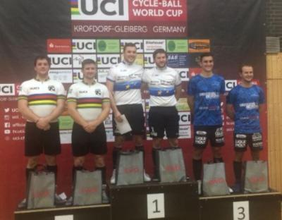 Radball-Weltcup: Stein unterliegt Höchst 1 knapp