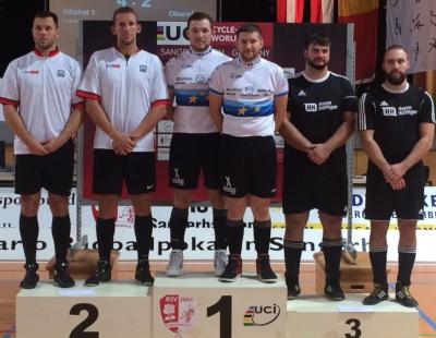 Der RC Höchst 1 (Mitte) gewann den Weltcup-Spieltag in Sangerhausen vor RV Obernfeld (li.) und RSV Waldrems. Foto: RC Höchst