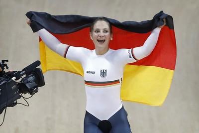 Kristina Vogel ist Radsportlerin des Jahres. Foto: BDR
