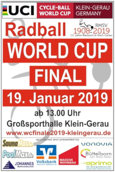 Radball: Weltcup-Finale in Klein-Gerau