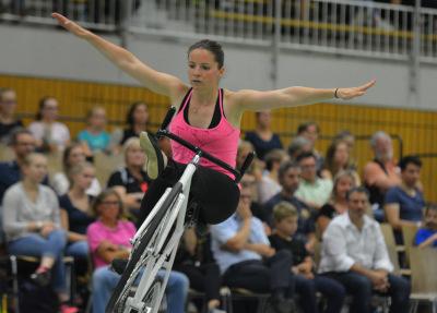 Für Iris Schwarzhaupt wäre die WM-Teilnahme in Stuttgart ein Heimspiel. Foto: Archiv/Uli Hugger