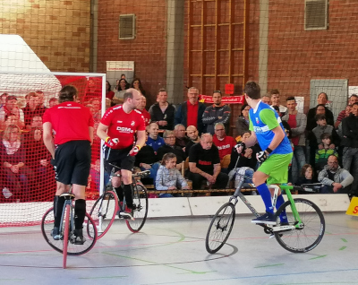 Obernfeld 1 wieder an der Spitze der 1. Radball-Bundesliga