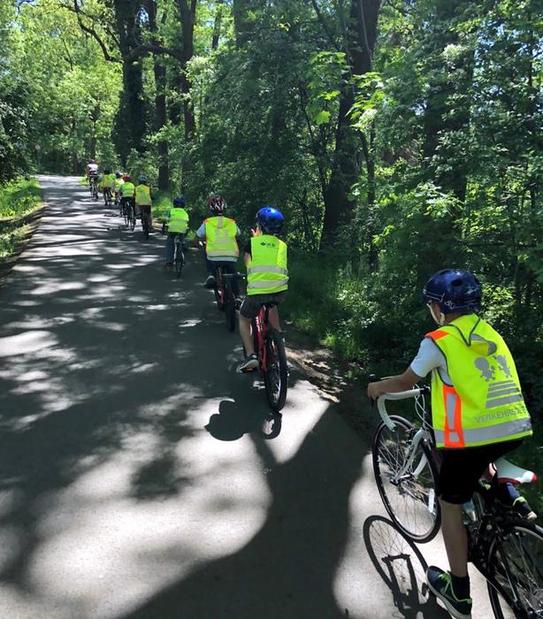 Beim BRV-Feriencamp soll den Kindern der Spaß am Radfahren vermittelt werden. Foto: BRV