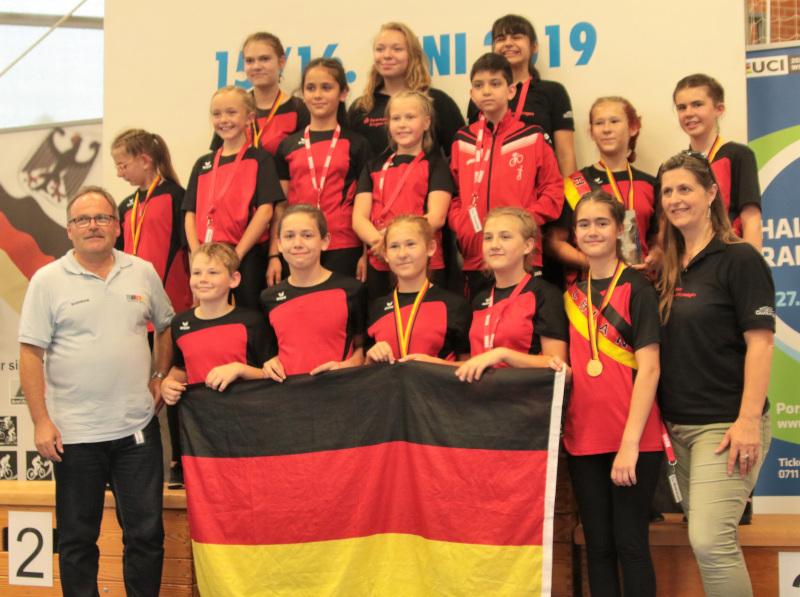 RMSV Aach gewann bei der Schüler-DM alle Mannschaftswettbewerbe. Foto: Wilfried Schwarz