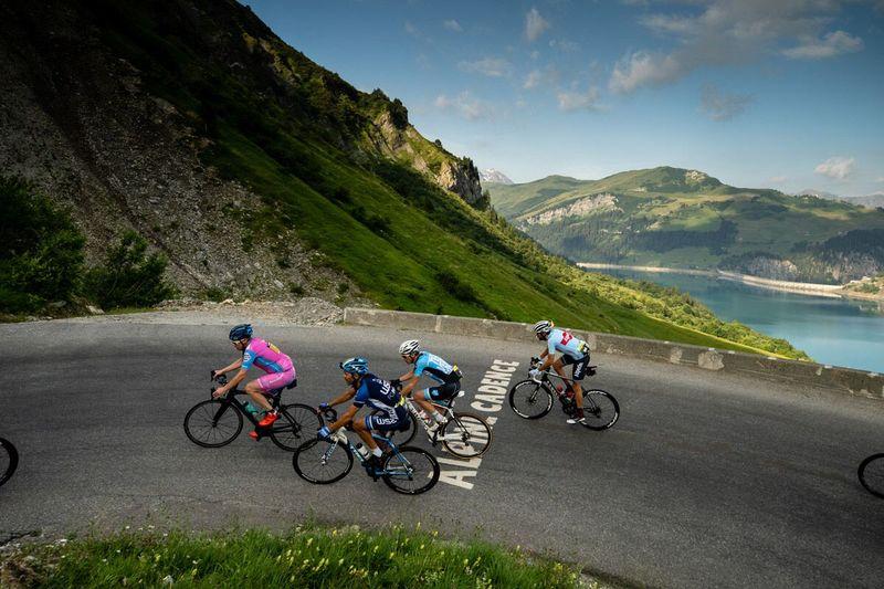 Die «L'Etape du Tour» verlangte den Hobbyradsportlern alles ab. Foto: Steffen Rohlfing