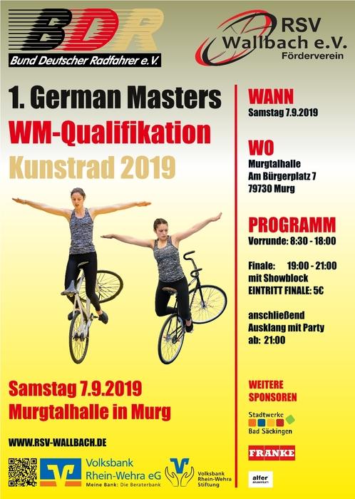 Saisonauftakt für die deutschen Kunstrad-Cracks - «In allen Diszplinen auf Weltspitzenniveau»
