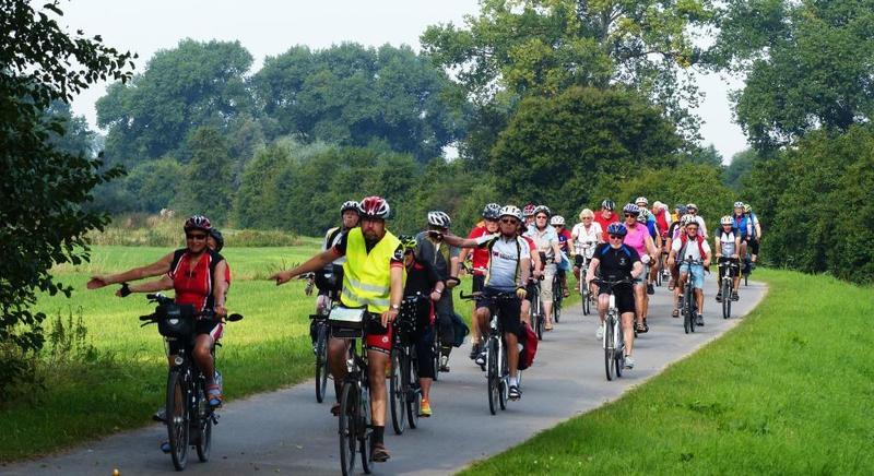 Die BDR-Radwanderer fuhren 2019 über 2,5 Millionen Kilometer. Foto: Bernd Schmidt