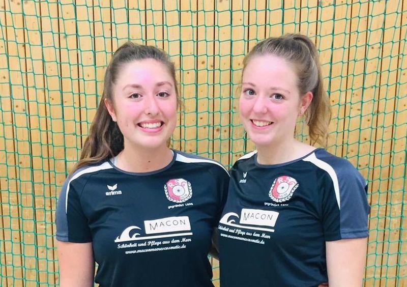 Lisa und Anna Guthmann führen in der 1. Radpolo-Bundesliga. Foto: facebook.com/RsgGinsheim