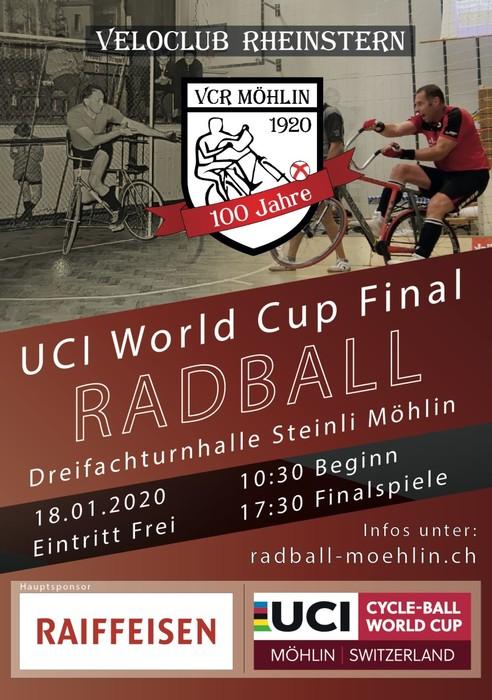 Radball: Weltcup-Finale in Möhlin mit drei deutschen Teams