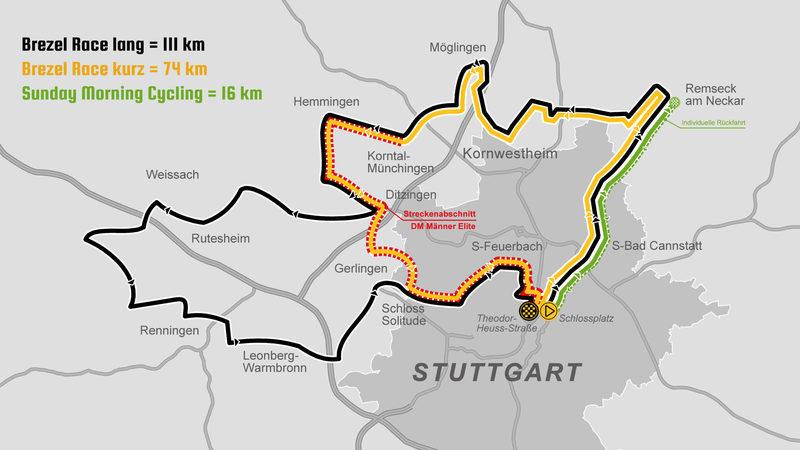 «Brezel Race»: Strecken für Jedermannrennen im Rahmen der DM veröffentlicht
