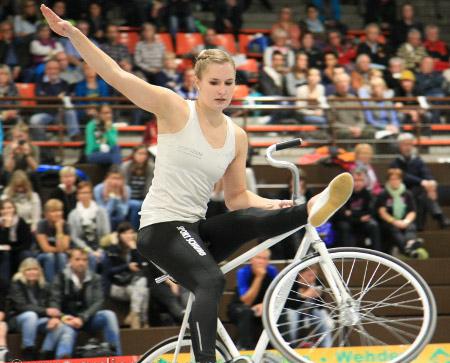 Viola Brand nimmt an der Sporthilfe-Aktion teil. Foto: Archiv/Mareike Engelbrecht