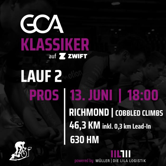 «GCA Klassiker»: Zweiter Lauf auf «Cobbled Climbs»-Kurs