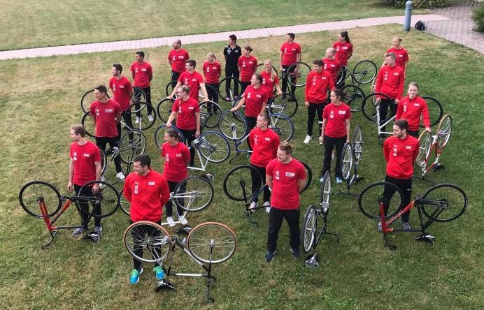 Die deutschen Kunstradsportler blicken bereits auf 2021. Foto: BDR