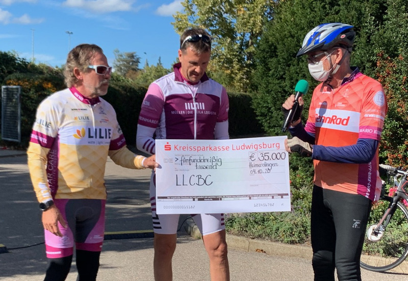 «Lila Logistik Charity Bike Cup» sammelt 35.000 Euro für Kinder in Not