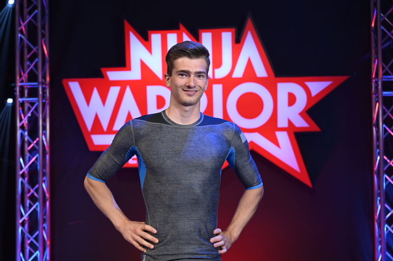 Kunstrad-Weltmeister Lukas Kohl bei «Ninja Warrior»
