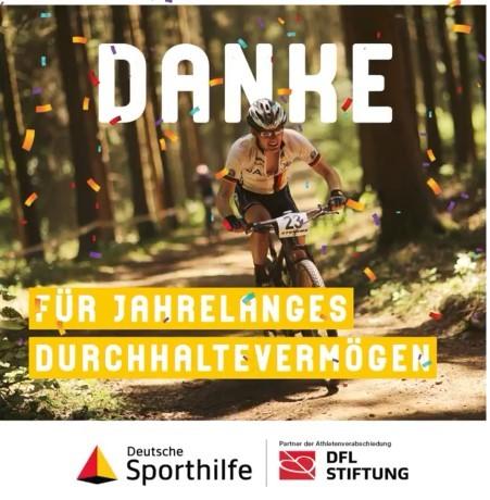 Sporthilfe und DFL Stiftung würdigen Spitzenathleten nach Karriereende - acht Radsportler berücksichtigt