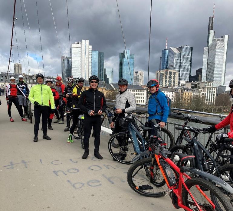 In Frankfurt wurden neue «Fit for E-Bike Instruktoren» vom BDR ausgebildet. Foto: BDR