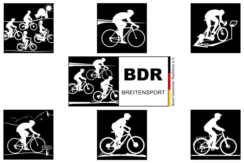 BDR stellt neue Breitensport-Piktogramme und -Logos vor