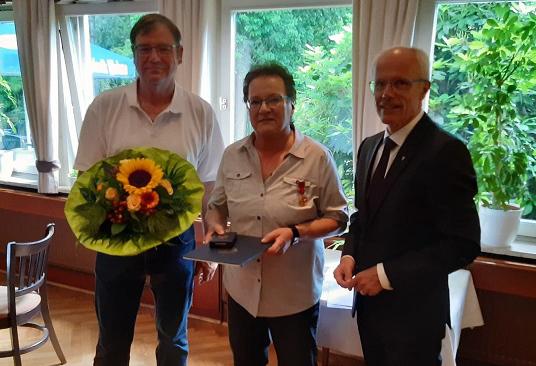 Uta Bruns mit Bundesverdienstorden ausgezeichnet