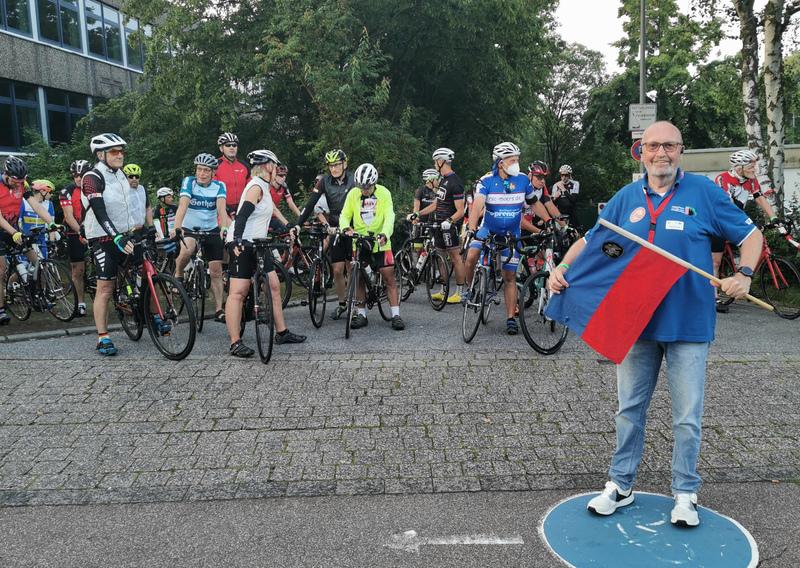 Bundes-Radsport-Treffen mit RMCD-Marathon gestartet