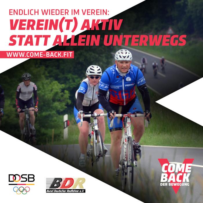 BDR unterstützt DOSB-Kampagne «Come Back»
