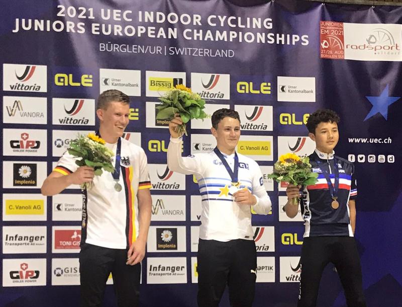 Hallen EM der U19: Fünf Titel und dreimal Silber