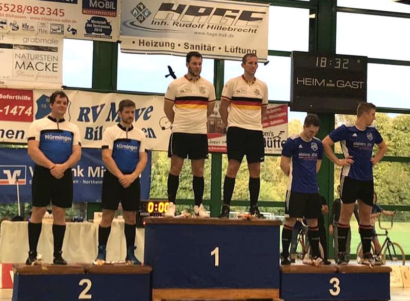 RV Obernfeld (Mitte) gewann das 2. Final Five vor RMC Stein (li.) und RVW Naurod. Foto: RMC Stein